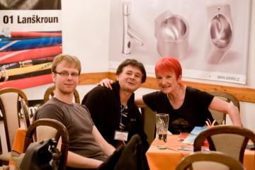 S Janou Koubkovou a Janem Červenkou (JAZZ A LITTLE OTHERWISE)