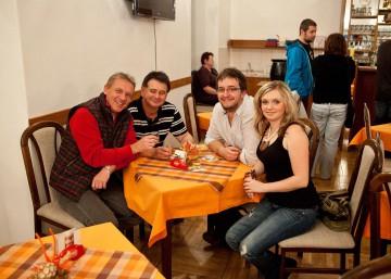 Po koncertě se Zbigniewem Czendlikem,Zuzanou Zedníčkovou a Janem Pulkertem